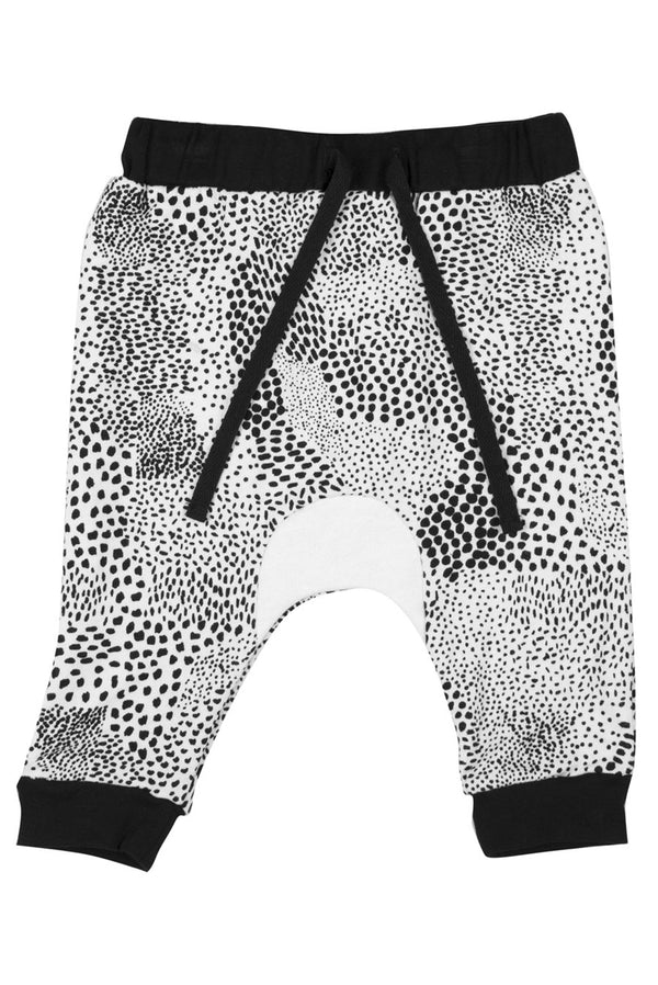 Abstract Baby Trackie White/Black - Zuttion