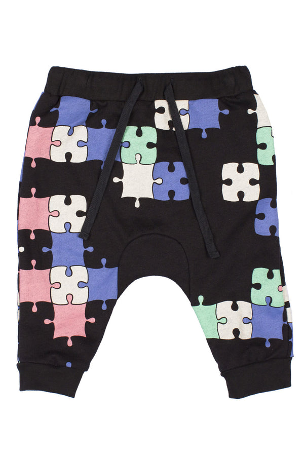 Puzzle Baby Trackie Black/Multi - Zuttion