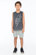 HELL YEAH TANK TOP CHARCOAL - Zuttion