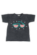 WATERMELON SUNNIES ROUND NECK T CHARCOAL