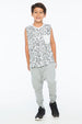 KEITH TANK TOP POCKET WHITE - Zuttion