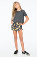 FOX SUMMER SHORT CHARCOAL - Zuttion
