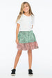 ABSTRACT FRANKIE SKIRT RAINBOW - Zuttion
