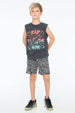 KEITH BOAT SHORT BLACK - Zuttion