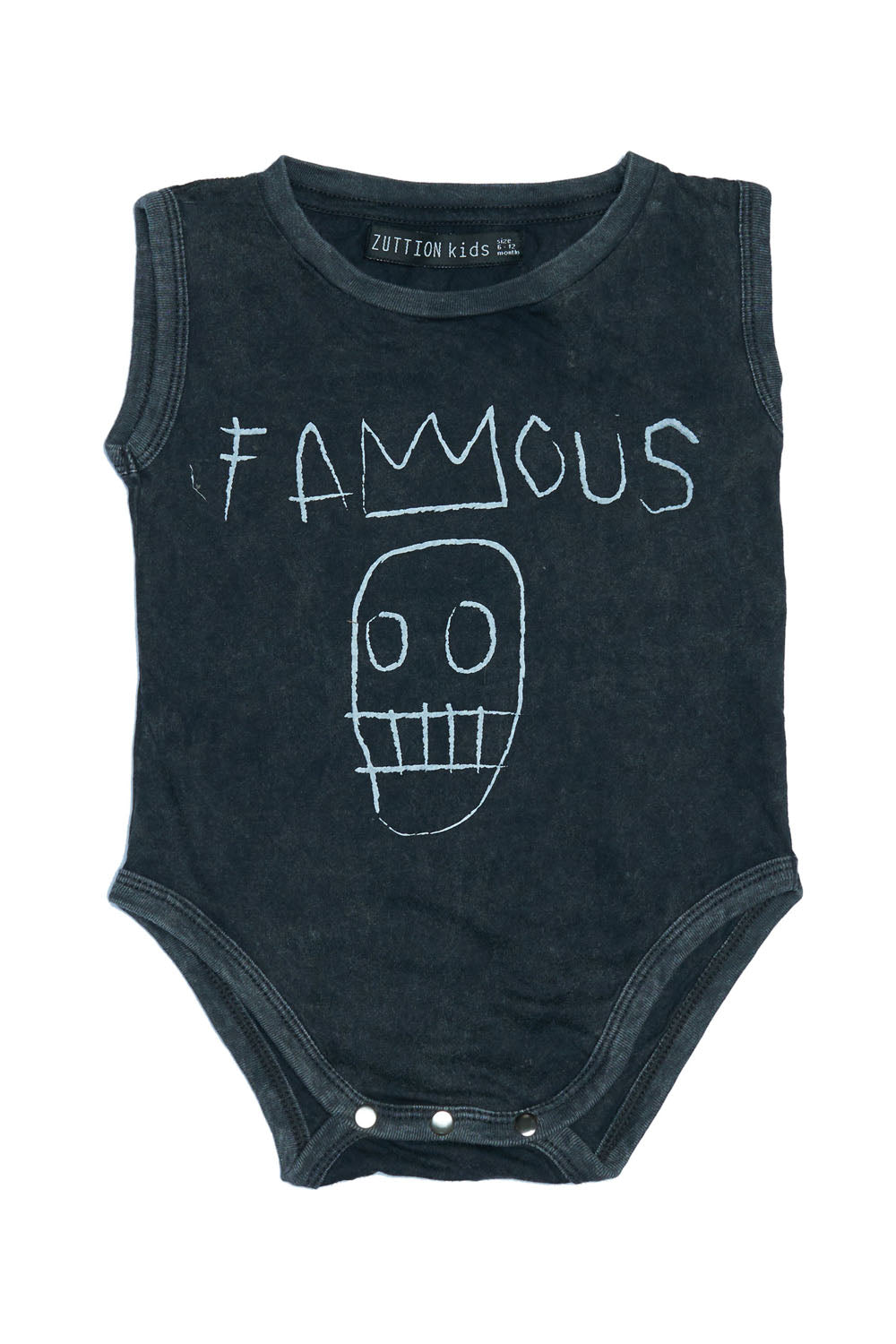 FAMOUS ONESIE CHARCOAL
