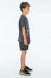 LOVE IS ALL I GOT S/S ROUND NECK T CHARCOAL - Zuttion