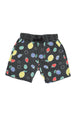 SUMMER FRUITS BOAT SHORT CHARCOAL - Zuttion