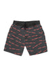 TOO MANY RULES BOAT SHORT CHARCOAL - Zuttion