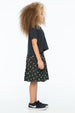 DIAMOND GRADATION FRANKIE SKIRT CHARCOAL - Zuttion