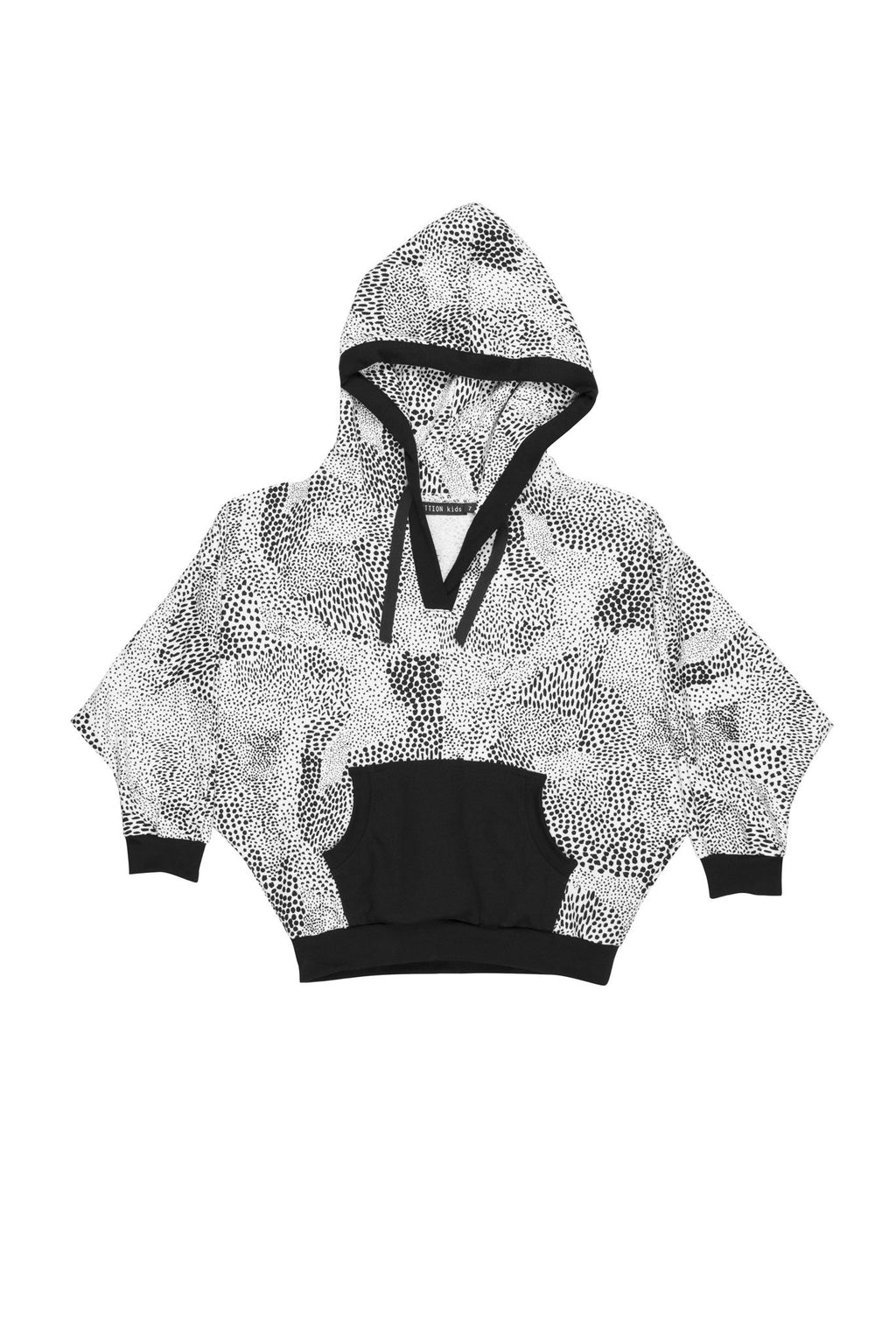 Bat Wing Abstract Sweater Hoodie - Zuttion