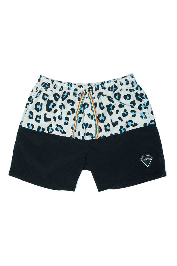 LEOPARD BOARD SHORT MULTI