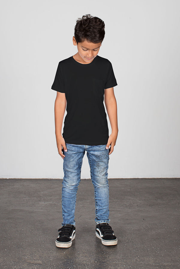 Short Sleeve Tee Black - Zuttion