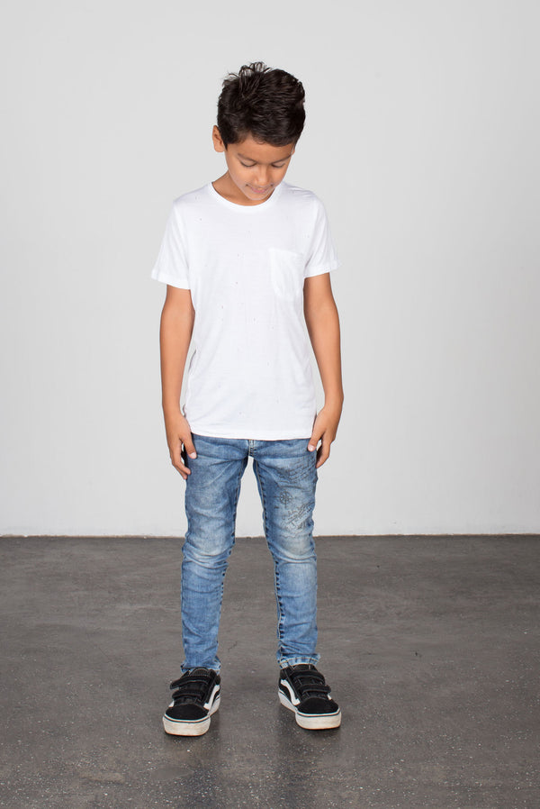 Short Sleeve Tee White - Zuttion