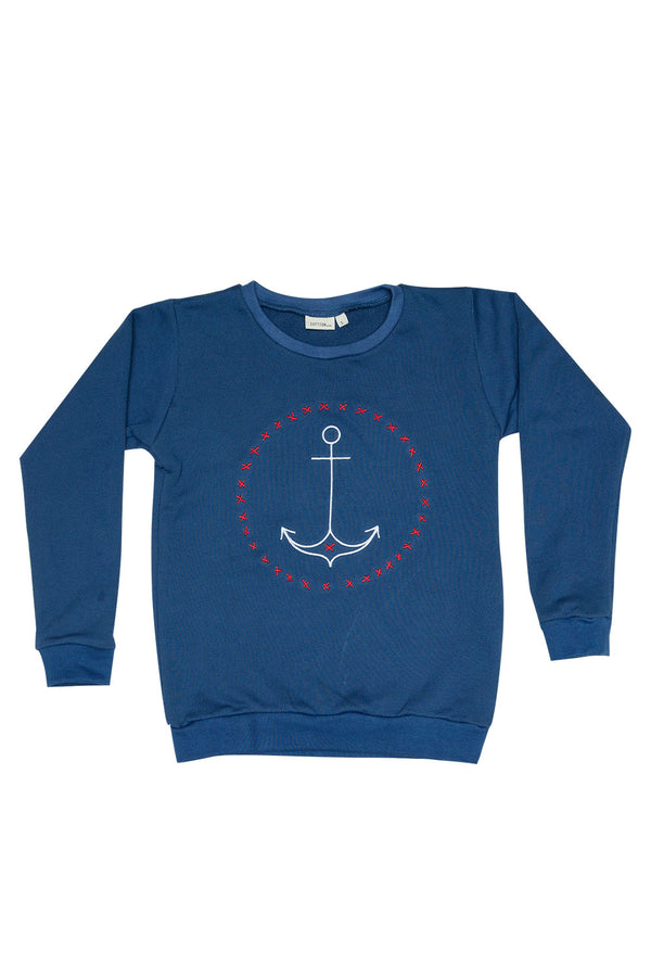 ANCHOR SWEATER NAVY