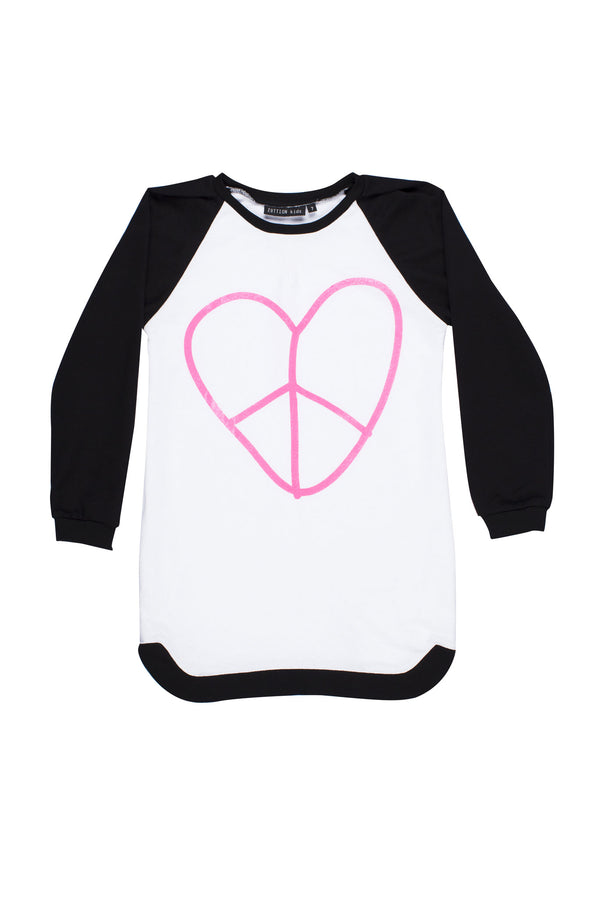 Heart Stevie Sweater Dress - Zuttion