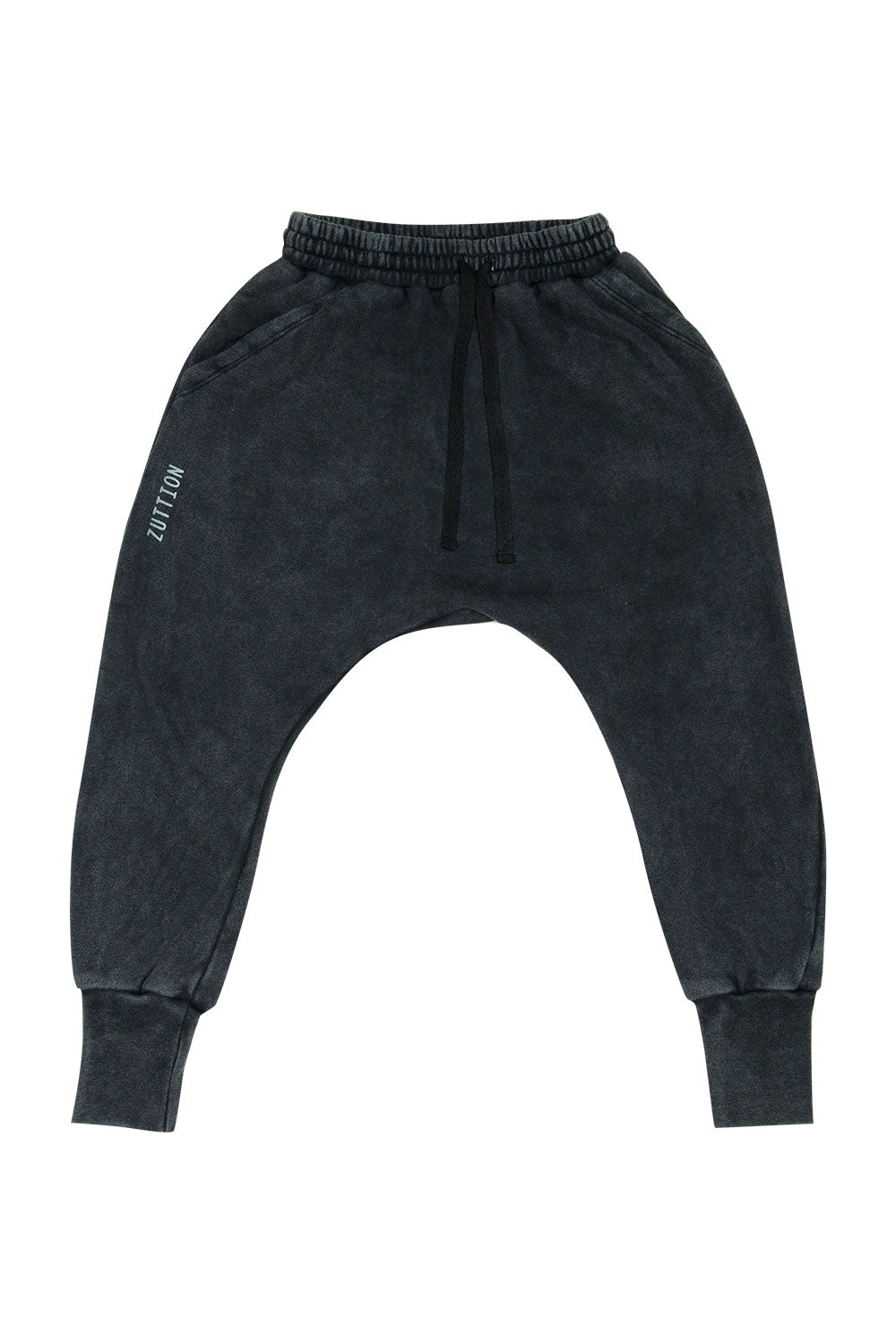 LOW CROTCH TRACKIE PANT CHARCOAL