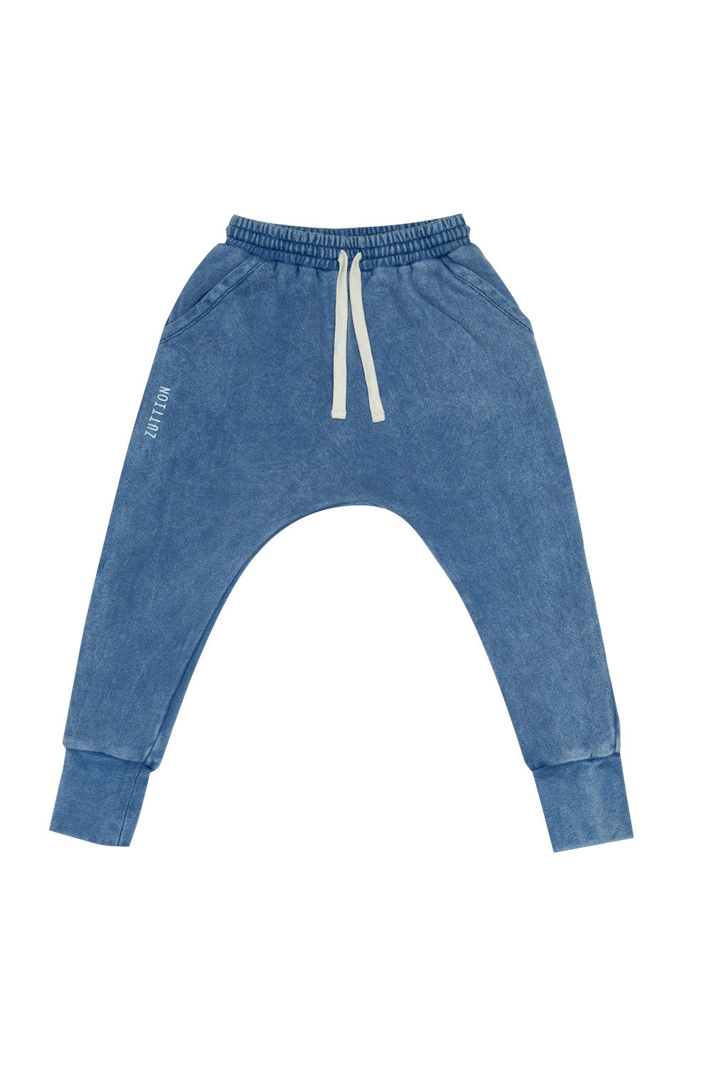 LOW CROTCH TRACKIE PANT NAVY