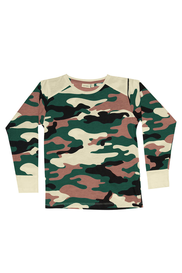 CAMOUFLAGE L/S TEE