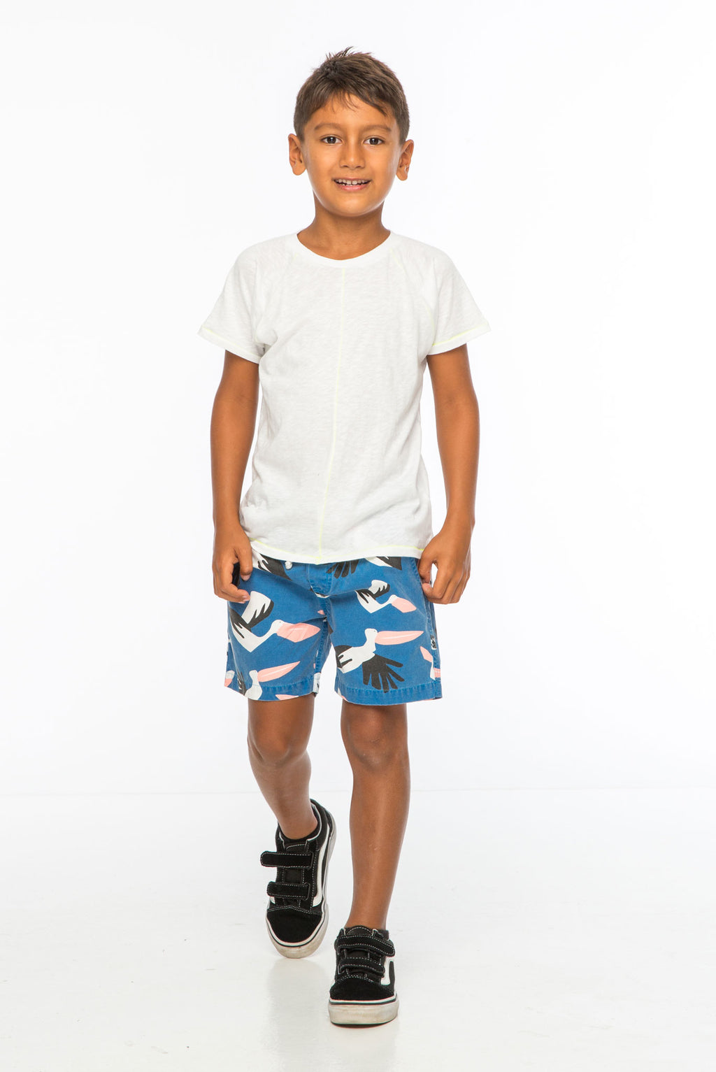 PELICAN BOAT SHORT NAVY - Zuttion