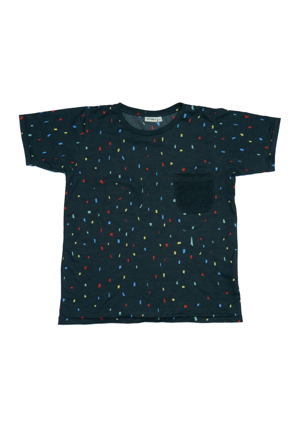 SHAPES S/S ROUND NECK T CHARCOAL