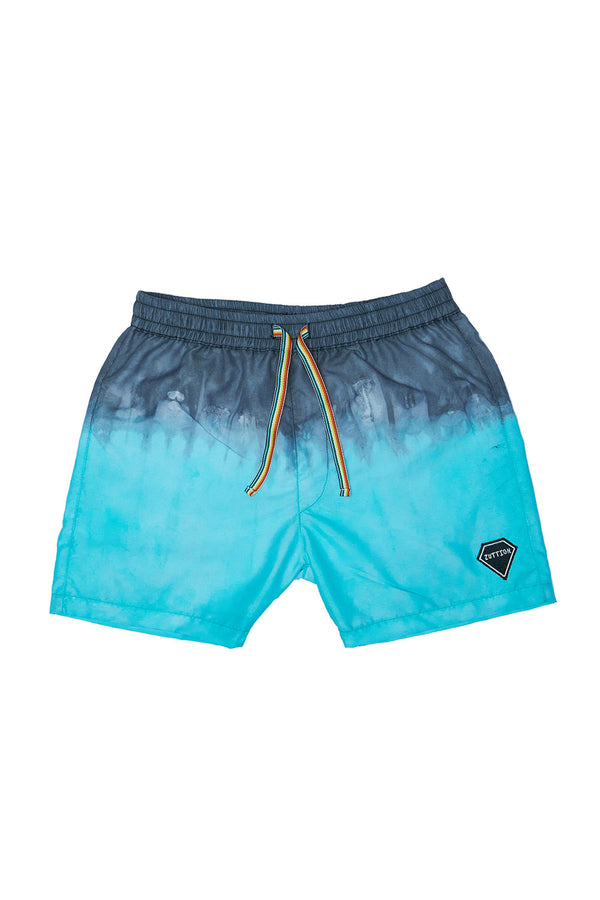 DIP DYE BOARD SHORT BLUE