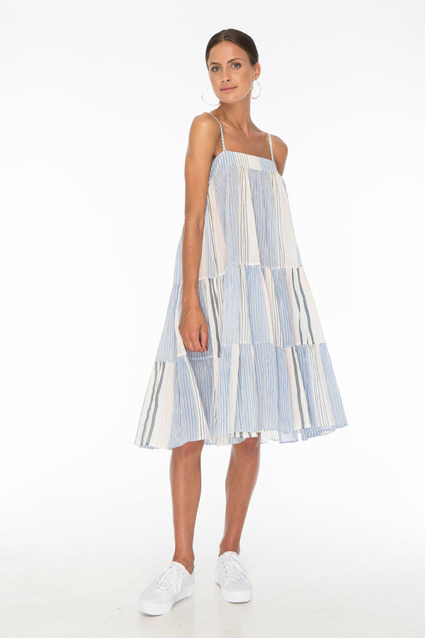 TSO-Dolly Jones Vogue Stripe Dress - Zuttion
