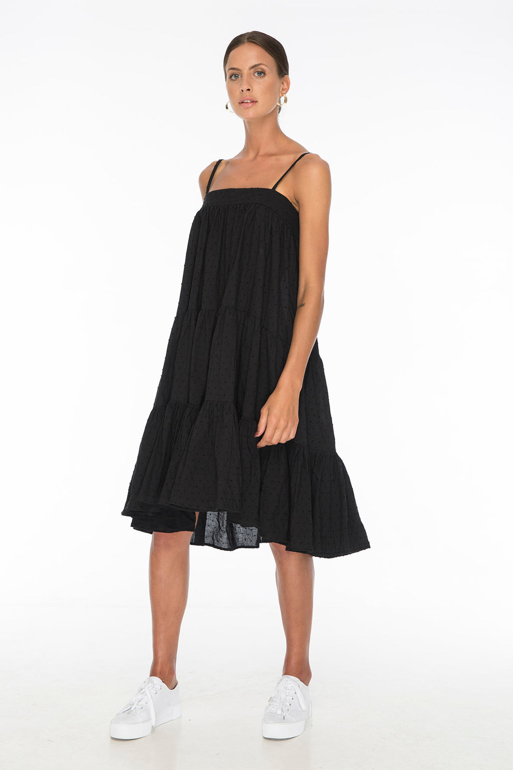 TSO-Dolly Jones Black Dress - Zuttion