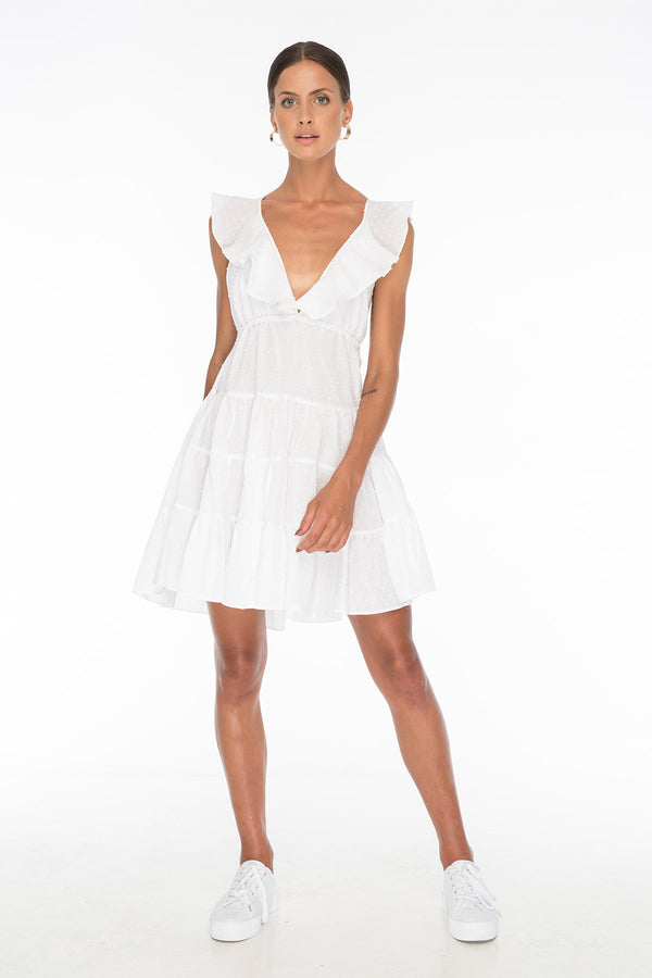 TSO-Susannah Coe White Dress - Zuttion