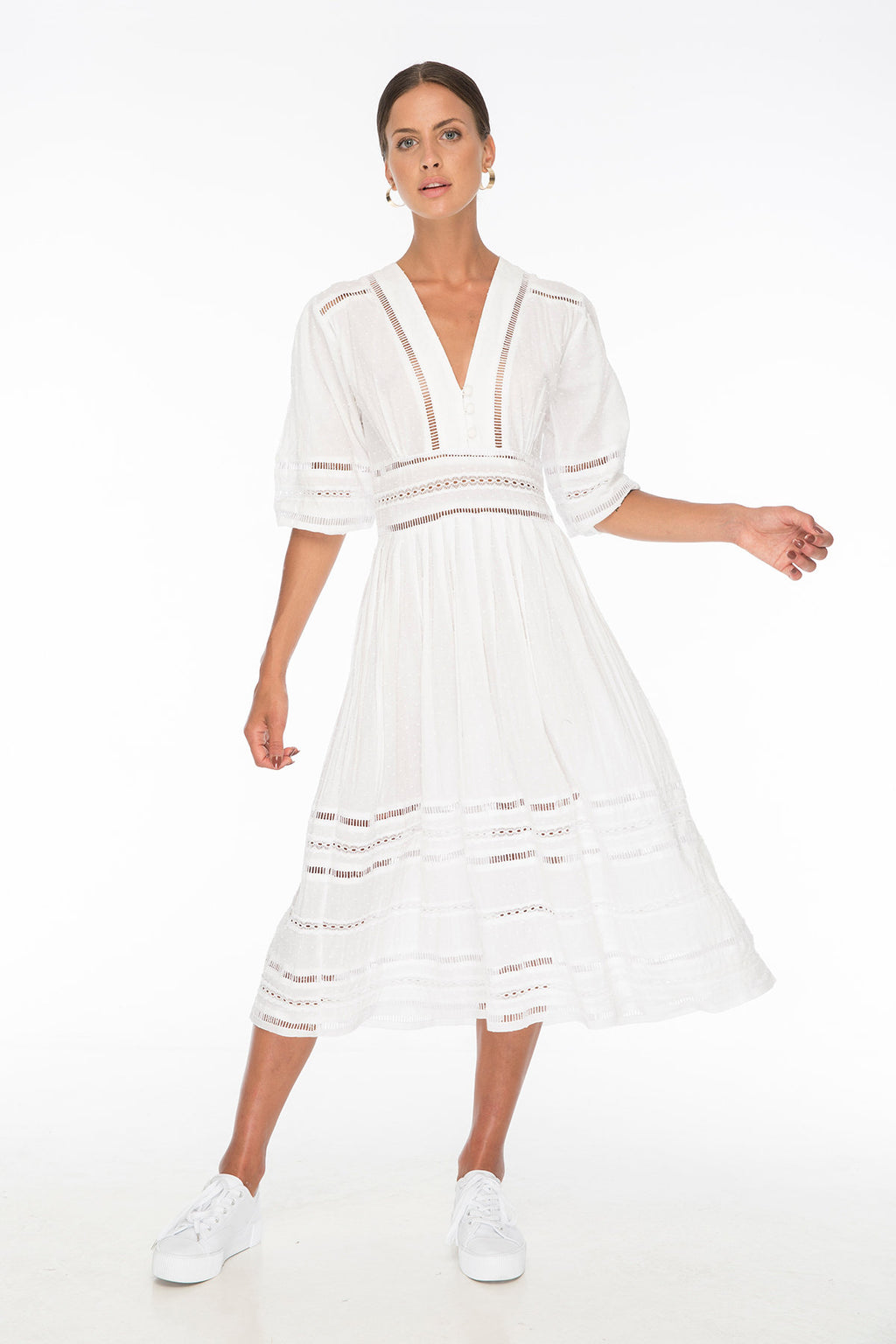 TSO-Tayla White Dress - Zuttion