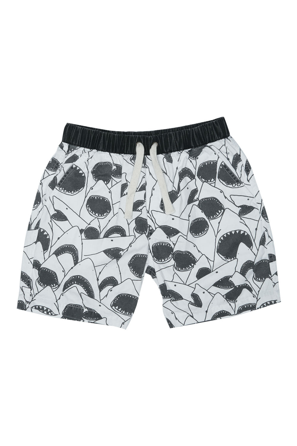 SHARK WALK SHORT WHITE