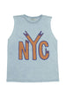 NYC TANK TOP GREY