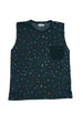 SHAPES TANK TOP CHARCOAL