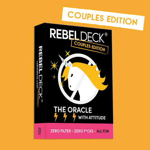 REBEL Deck- COUPLES Edition (60 cards)