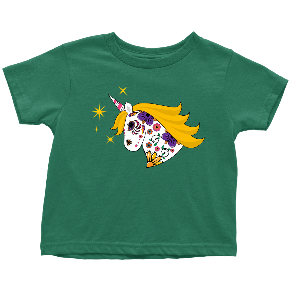 Sugar Skull Unicorn Toddler