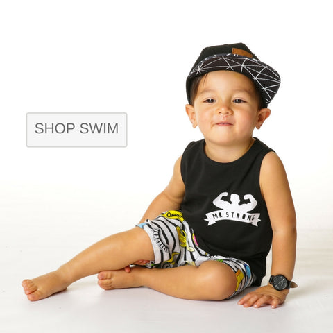 baby boy and toddler kids Swimwear