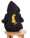 Band of Boys Sitting Cheetah Zip Hood Crew - Threads for Boys