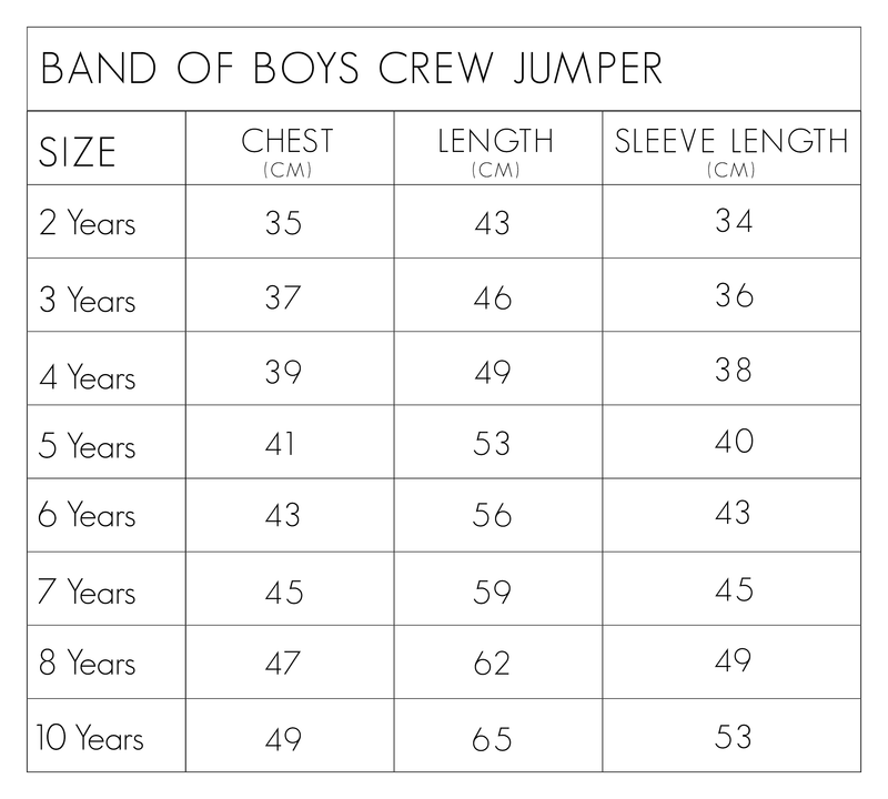 Hot Dog Classic Crew - Threads for Boys