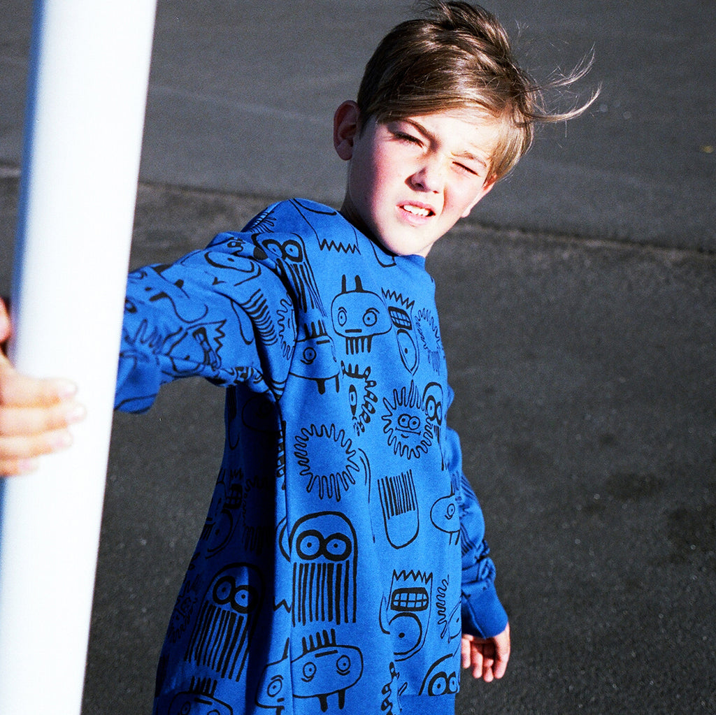 Band of Boys Deep Sea Oversize Crew - Threads for Boys