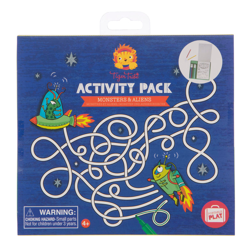 Tiger Tribe Activity Pack - Monsters and Aliens - Threads for Boys