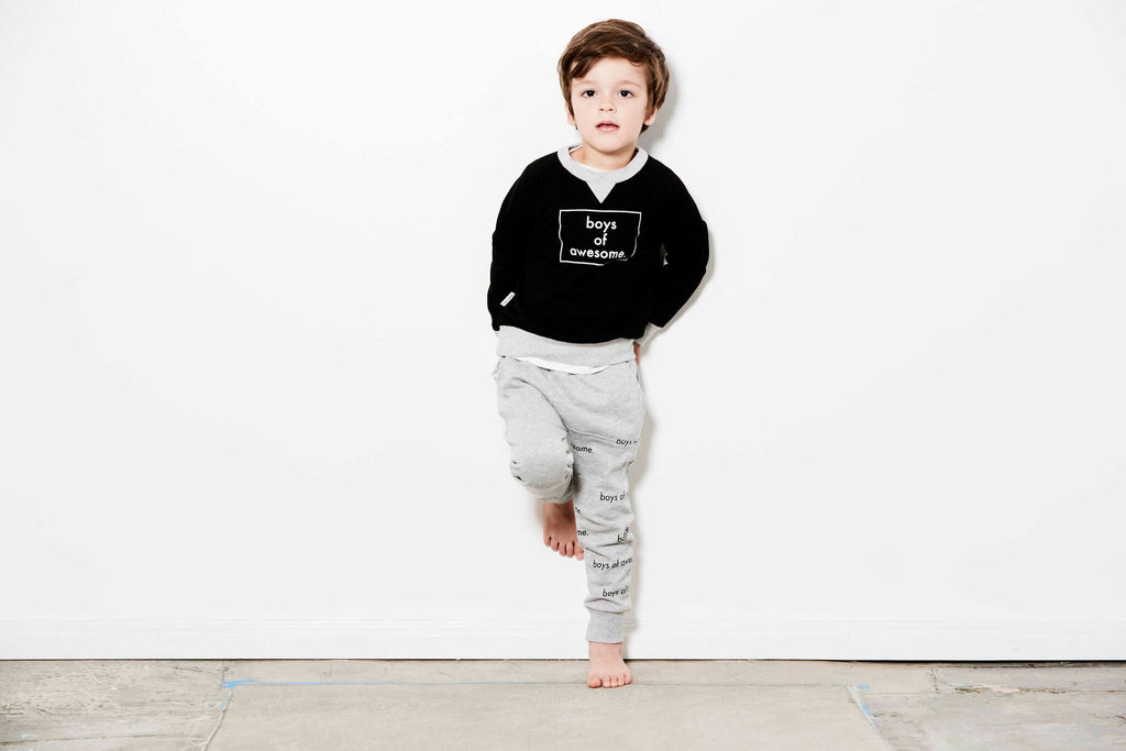 Tiny Tribe Boys of Awesome Sweater - Threads for Boys