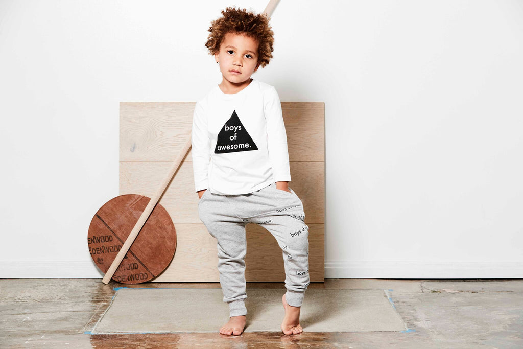 Tiny Tribe Boys Of Awesome Tee - Threads for Boys