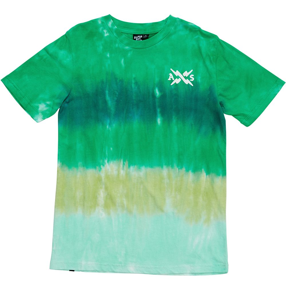 Alphabet Soup Blender Tee Green