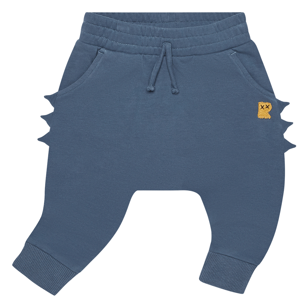 PRE-ORDER Rock Your Baby Blue Dino Baby Trackpants