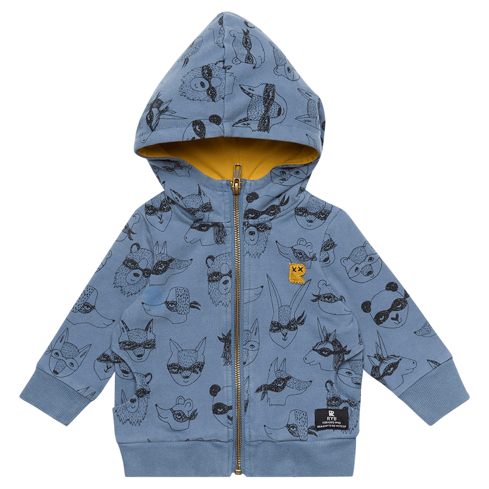 Rock your Baby Bandit Baby Hoodie - Threads for Boys