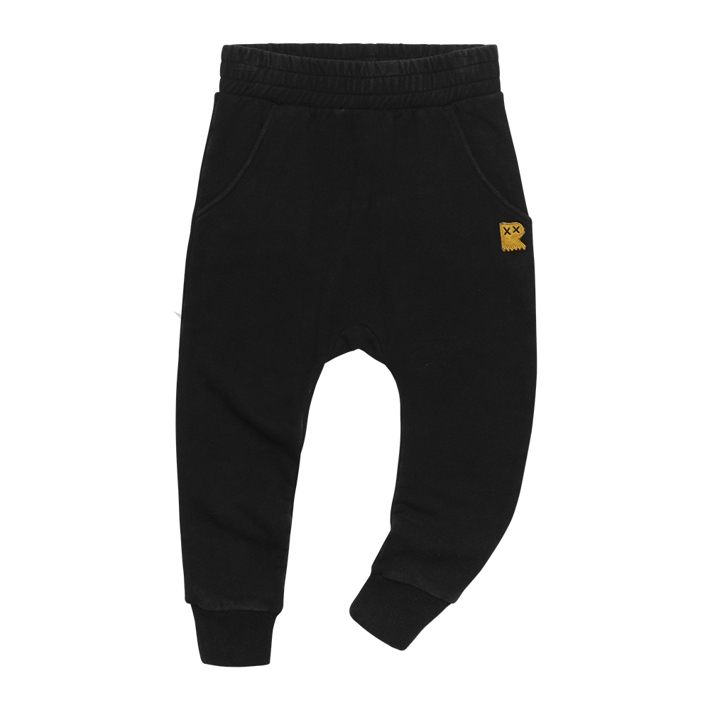 Rock Your Baby Black Wash Trackpants - Threads for Boys