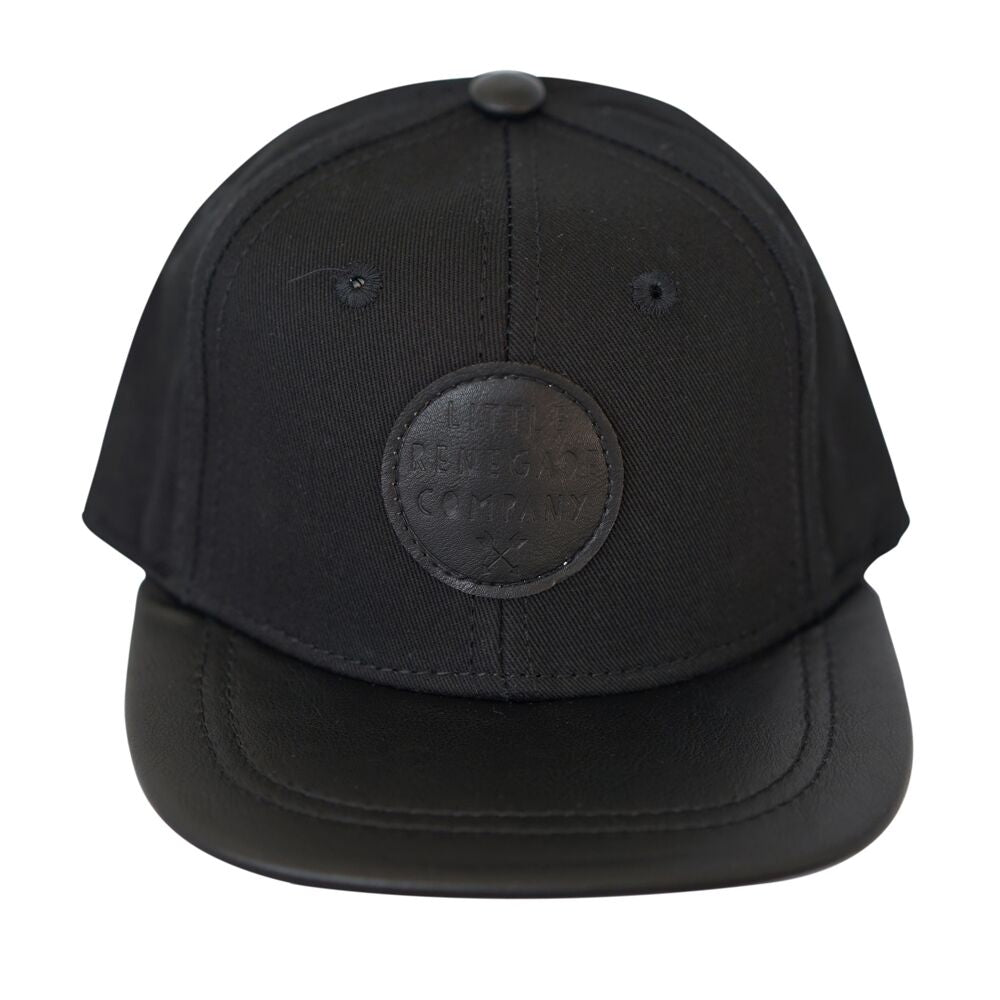Black on Black Cap - Threads for Boys