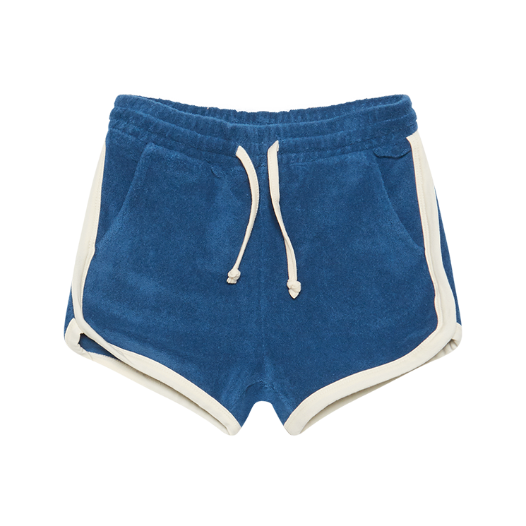 Rock your Baby Blue Jogger Shorts