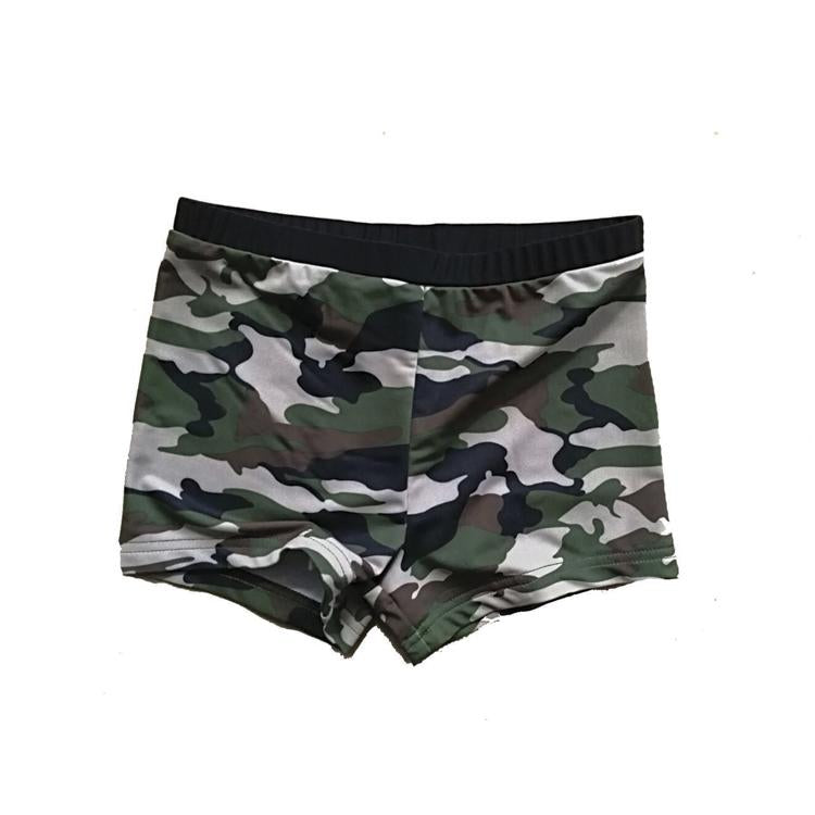 Lil Swimming Camo Trunks - Threads for Boys