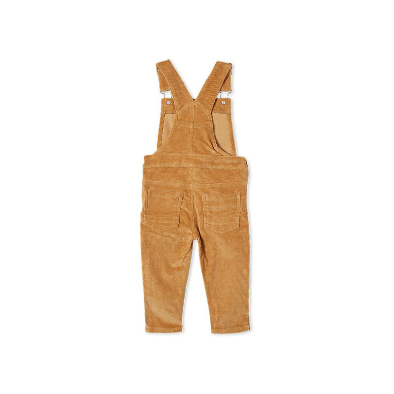 Milky Caramel Cord Overall