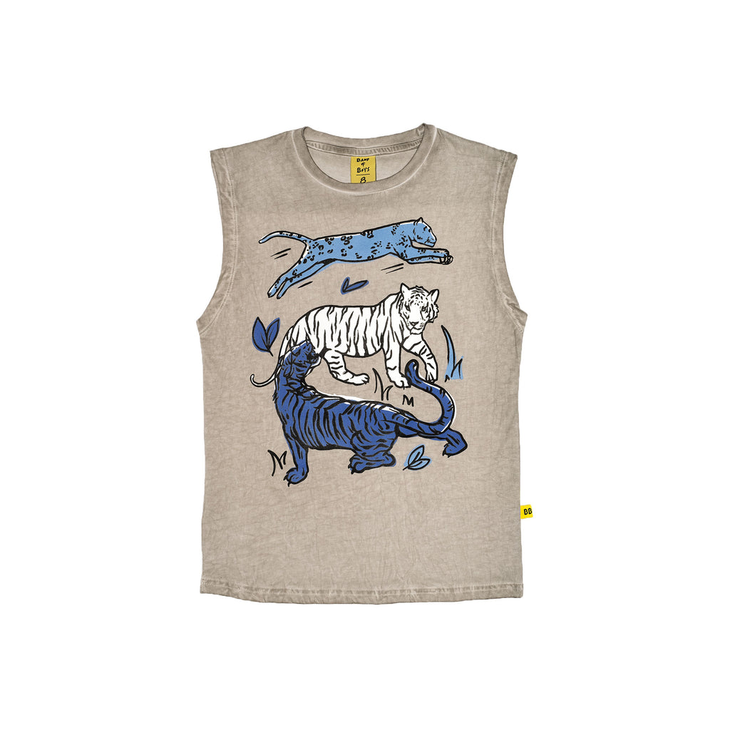 Band of Boys Cat Party Tank
